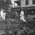 flower garden at Mt Hall 19072